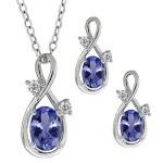 Diamond & Gemstone Pendant